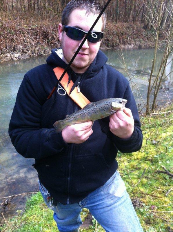 RETOUR DE SAKU FISHING 77  :-D avec une jolie ouverture truite