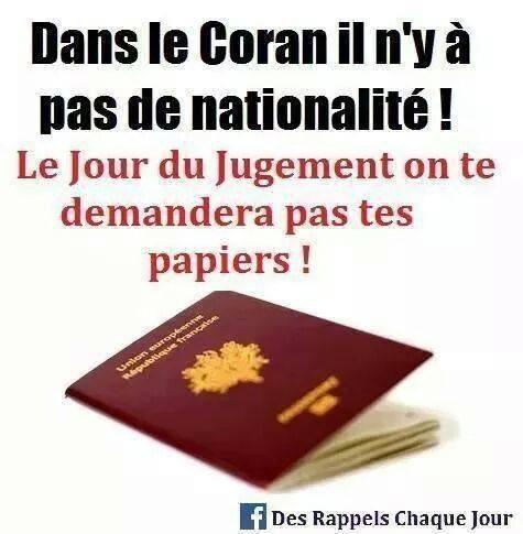 Dans le Coran ...