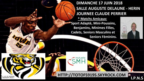 JOURNEE CLAUDE PERRIER DU 17 JUIN 2018