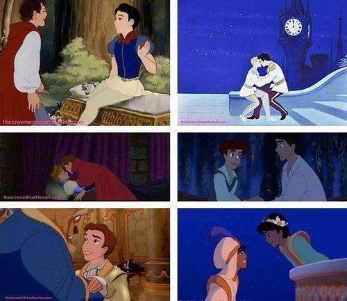 Disney Genderbend et Shonen Ai