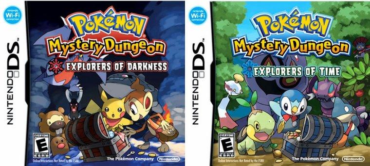 Pokémon Donjon Mystère explorateurs de l'ombre et du temps