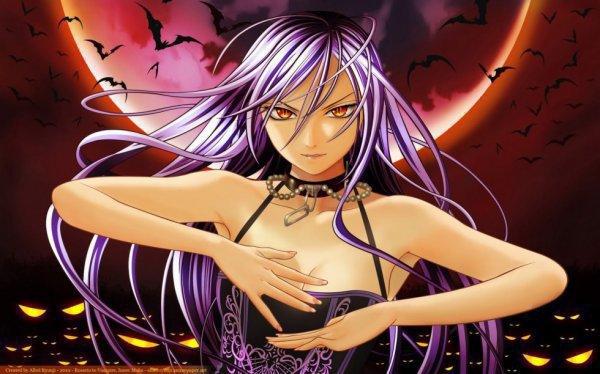 vampire fille