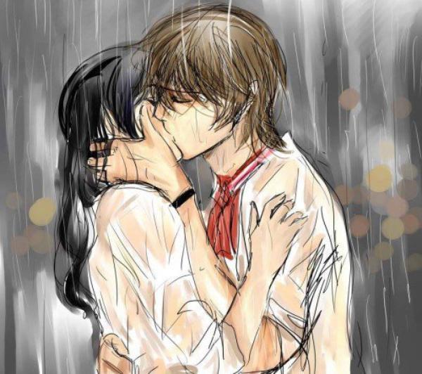 embrasse moi sous la pluie