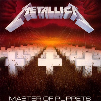 • • • METALLICA • • MASTER OF PUPPETS • ROCK ONE