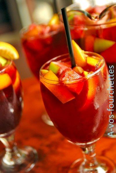 ◘.Sangria pour tous (Sans Alcool).◘