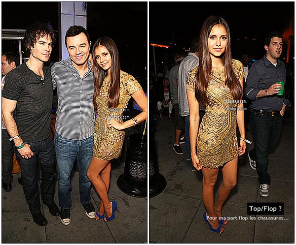* 13.07.12 : Découvrez les photos de Nina avant et pendant le Comic Con à San Diego ! (Part I) *