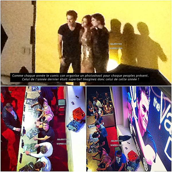 * 13.07.12 : Découvrez les photos de Nina avant et pendant le Comic Con à San Diego ! (Part II) *