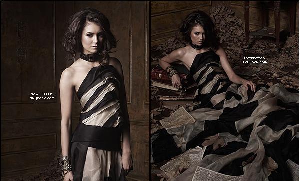 * Découvrez une nouvelle image du photoshoot de Vampire Diaries pour la saison 2 ! *