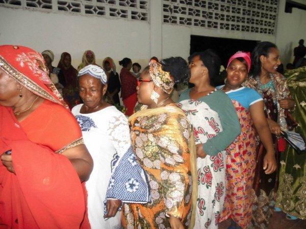 Djalico femme pour le grand mariage de Monsieur Ahamada Mmadi Soilihi le 12/01/2017