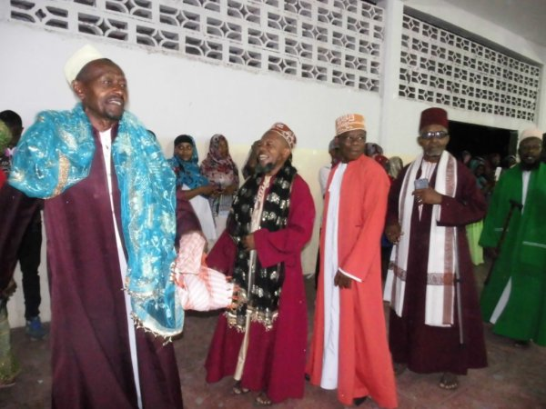 Djalico homme pour le grand mariage de Monsieur Ahamada Mmadi Soilihi le 13/01/2017