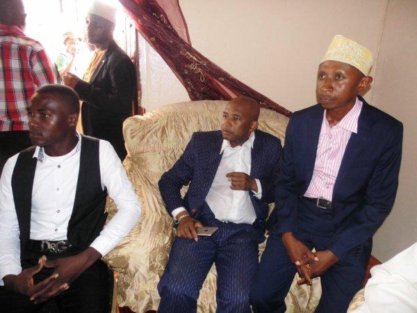 Célébration du mariage de Monsieur Maoulida Ousseine AMERICAIN & Madame Antua Mmadi Chanfi le 15/01/2017