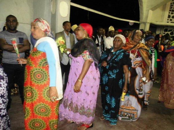 Djalico femme pour la célébration du grand mariage de Monsieur AHAMADA ABDALLAH et FATIMA MOHAMED MANSOIB ce jeudi 13/07/2017
