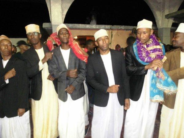 Djalico homme pour la célébration du grand mariage de Monsieur AHAMADA ABDALLAH et FATIMA MOHAMED MANSOIB ce jeudi 14/07/2017