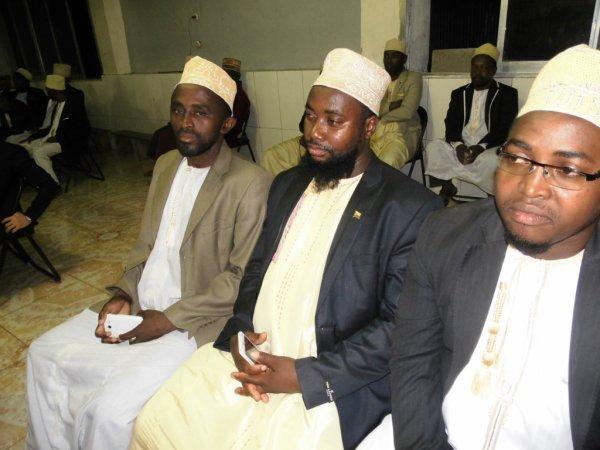 Madjlisse pour la célébration du grand mariage de MBABA ZALI ALI CASSIM