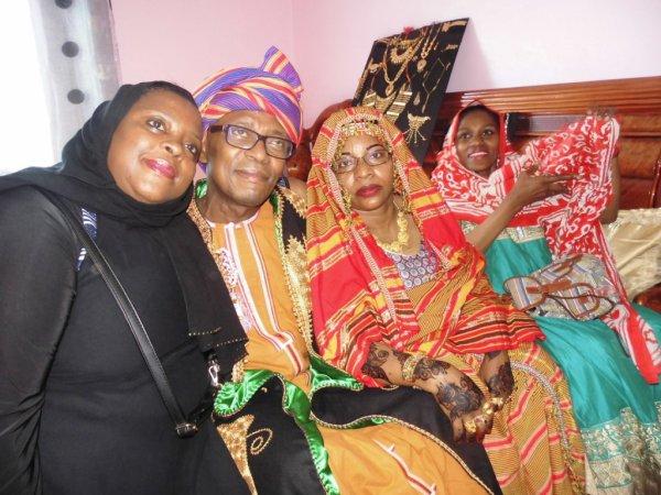 ZIFAFA pour la célébration du grand mariage de Monsieur ABDILLAH ASSIMAK & Madame ZAMZAM ALI