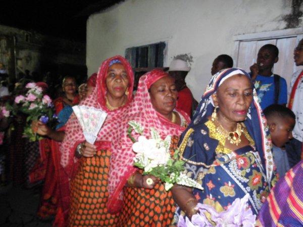 Djalico femme pour la célébration du grand mariage de Monsieur IBADA HAMADI & Madame MARIAMA MOINDJIE