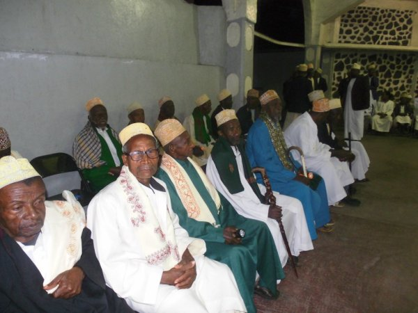 MADJLISSE pour la célébration du grand mariage de Monsieur ALI MMADI SAID