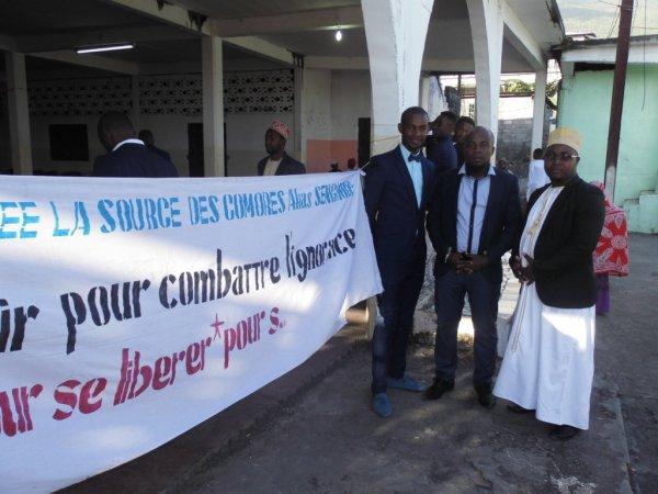 Célébration à Nioumadzaha Bambao du 10ème anniversaire de l'école LA SOURCE DES COMORES ce vendredi 08/09/2017