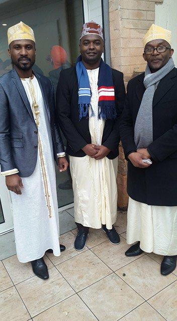 Célébration en France du mariage de Monsieur AMIRDINE SAID MBALIA