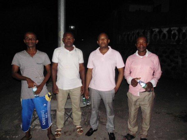Le bureau de l'Association UJDN a procédé à une opération de surveillance de la ville de Nioumadzaha durant toute la nuit du 05/05/2018