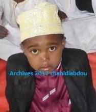 L'association Comorienne des Lecteurs coranique a organisé en fin de cet après-midi un Khitma dans la mosquée de papa Fahami à la mémoire de notre petit frère Elarif TAANCHIK décédé dans la 28e nuit du ramadan