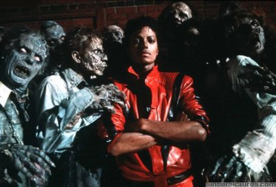 Michael Jackson (Making Thriller rare version)