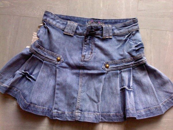 Mini jupe en jean - taille 36