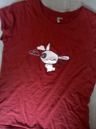 Tee-shirt Lapin kawaii