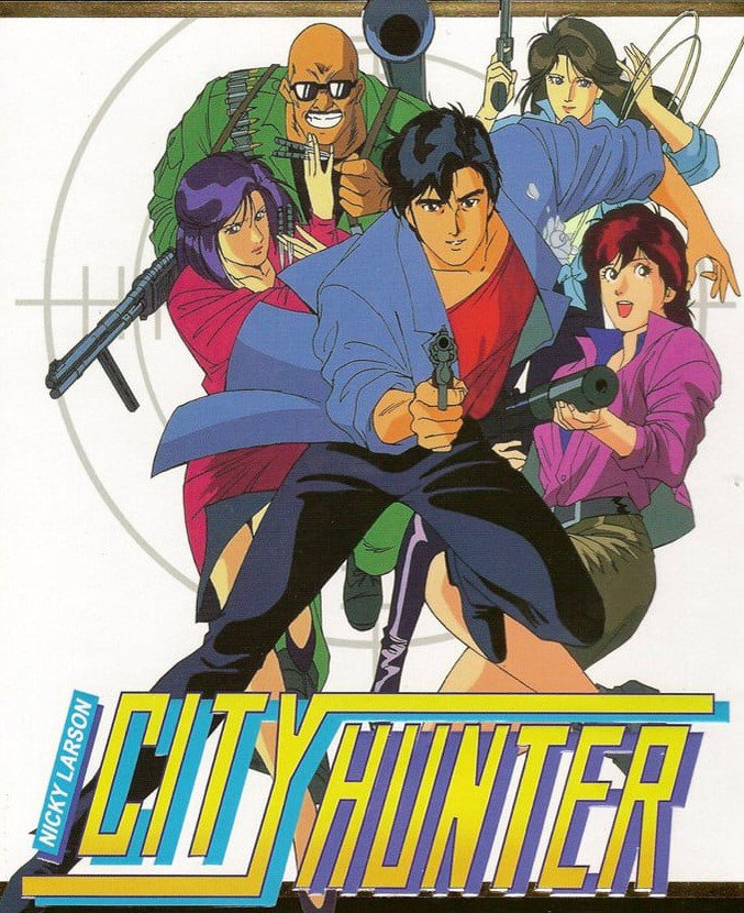 """ CITY HUNTER - NICKY LARSON ""  ( SERIE TERMINE )"