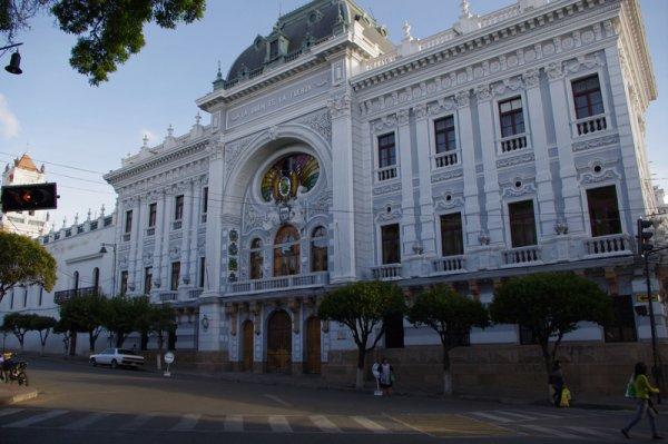 La ville de Sucre