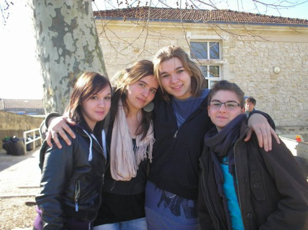 Moi, Aurélie, Anais et Ophélie