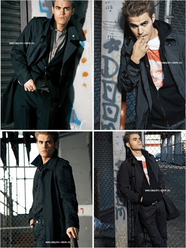"""Voici de nouvelles photos du shoot de Paul W. pour  """"WWD Magazine"""""""