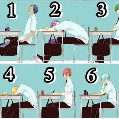 Quelle est ta position en cour??