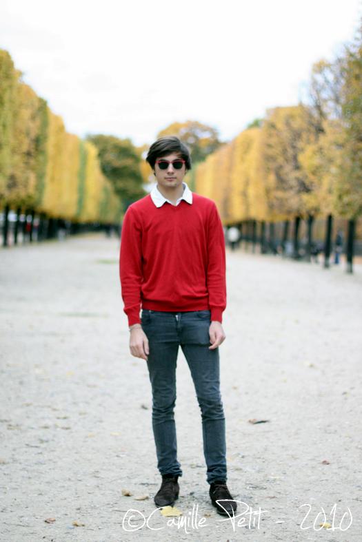 31/10/210 - Shooting dans Paris avec Maxime