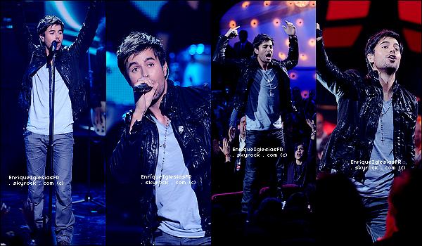 . Vendredi 21 Janvier : Enrique aux NRJ Music Awards 2011 a Canne . .