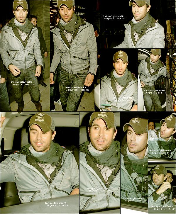 . Mercredi 11 Mai : Enrique sortant du restaurant Nobu a Los Angeles ___________ Top ou Flop ? .