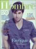 """. MAGAZINE : Enrique fait la couverture de l'Edition Juin/Juillet 2011 du Magazine Espagnol """"Hombre"""" ."""