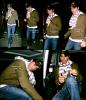 . Samedi 18 Octobre 2008 : Enrique quittant le restaurant Nobu a Londres. __________ Flashback .