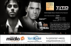 . AFFICHE OFFICIEL DU CONCERT D'ENRIQUE AVEC PITBULL ET PRINCE ROYCE EN REPUBLIQUE DOMINICAINE. .