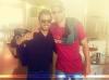 Découvrez une nouvelle photo mise en ligne sur les reseaux sociaux d'Enrique en compagnie d'Ahmed Chawki