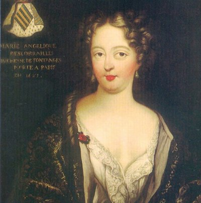 Mademoiselle De Fontanges Femmes De Cour A Versailles