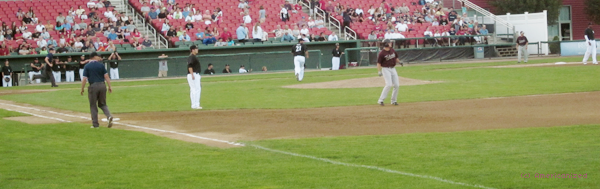 ♣ Baseball game ; Brockton Rox vs New York Federals