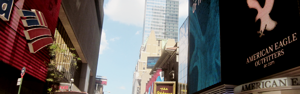 ♣ NEW YORK CITY ! (Times Square)