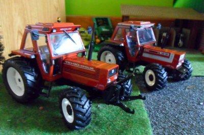 New Holland 110-90 et Fiat 110-90