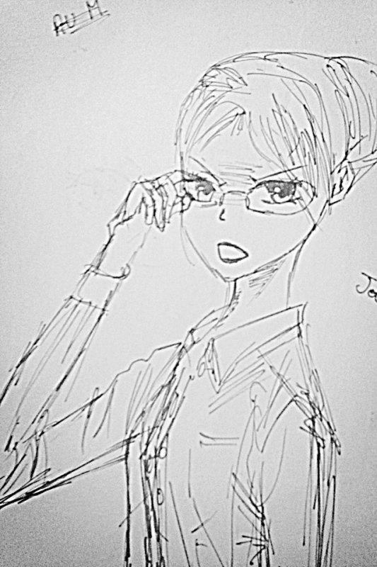 dessin d'une amie