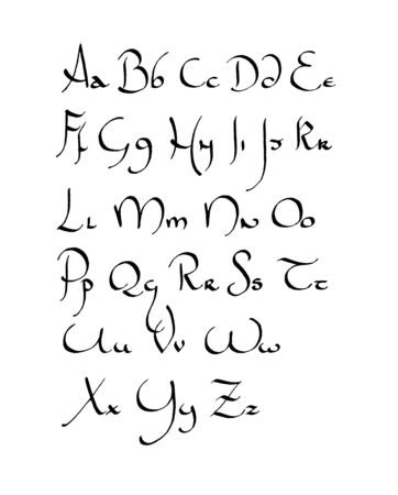 Calligraphie inventée