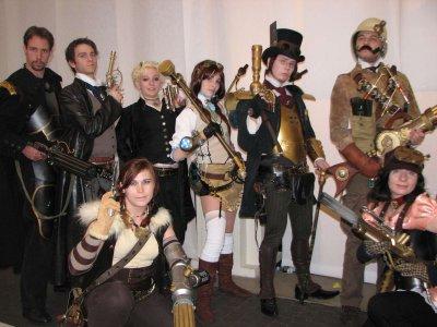 Le steampunks