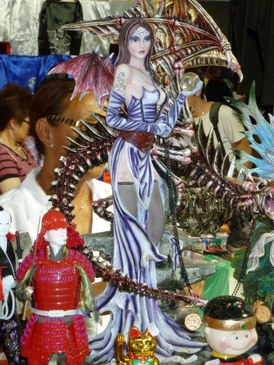 JE 2011 part 4 fée et elfes, statuettes