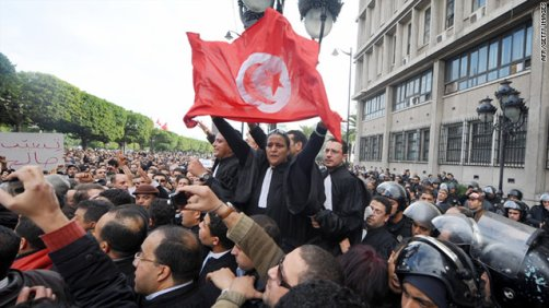 I'm proud of being tunisian