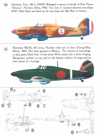 HURRICANE JAPONAIS 1/72 001